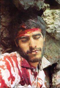 Iranian Soldier killed in Iran-Iraq War, Photo: Ehsan Rajabi